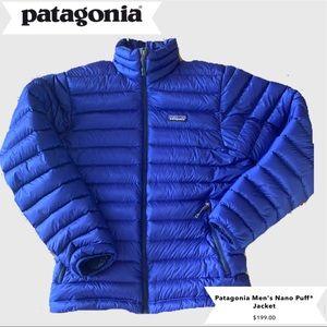 Men's Small Patagonia Nano Puff Jacket